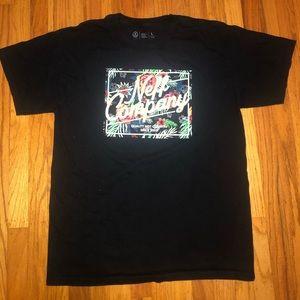 Neff Company Tropical Print T-Shirt